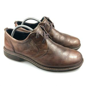 Ecco Mens Goretex Lined Waterproof Oxfords Shoes 9